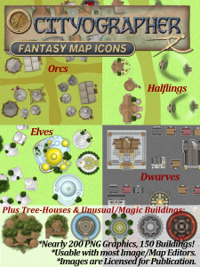 Fantasy Buildings/Icons
